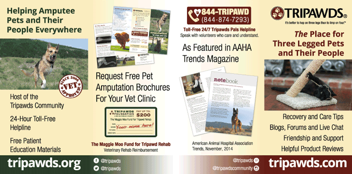Tripawds Foundation Display Graphics