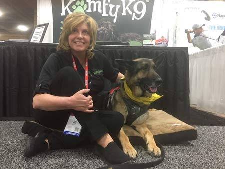 Wyatt and Komfy K9
