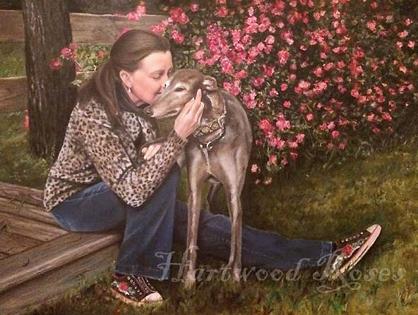 Greyhounds Rock Canine Cancer Angel Daniel