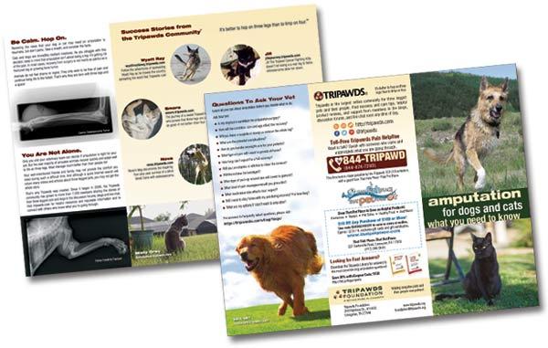 That Pet Place Tripawds Brochures