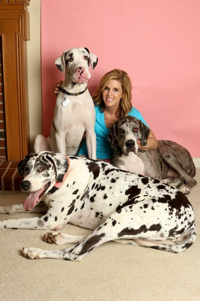 Tracy and her pack
