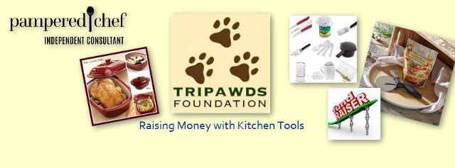 Tripawds Fundraiser Pampered Chef