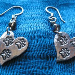 Tripawds earrings
