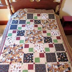 Matching Large and Small Quilt