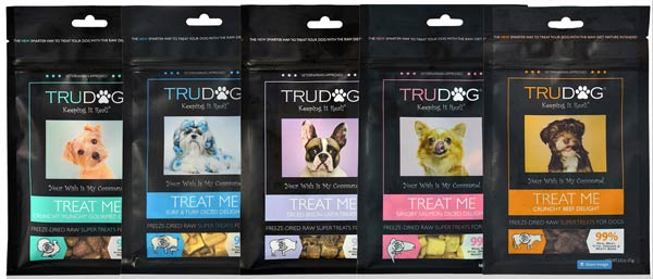 TruDog Food Treats and Supplements