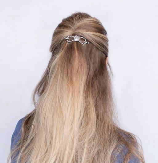 Lila Rose Paw Print Hair Clip