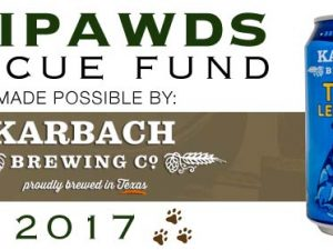 Tripawds Rescue by Karbach Brewing
