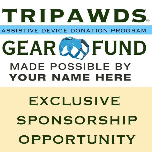 tripawds gear sponsor