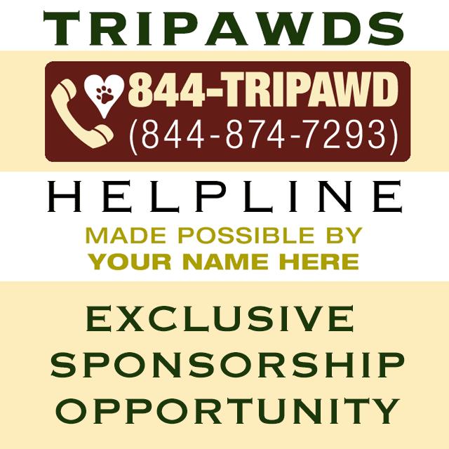 sponsor tripawds helpline