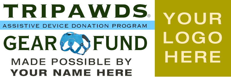 tripawds gear fund sponsor