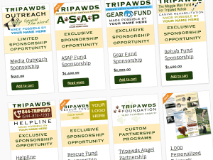 tripawds sponsorship programs