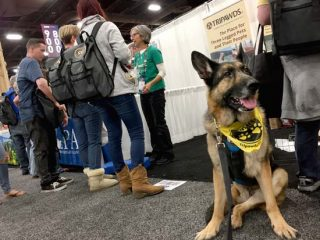 WVC 2018 Tripawds Booth