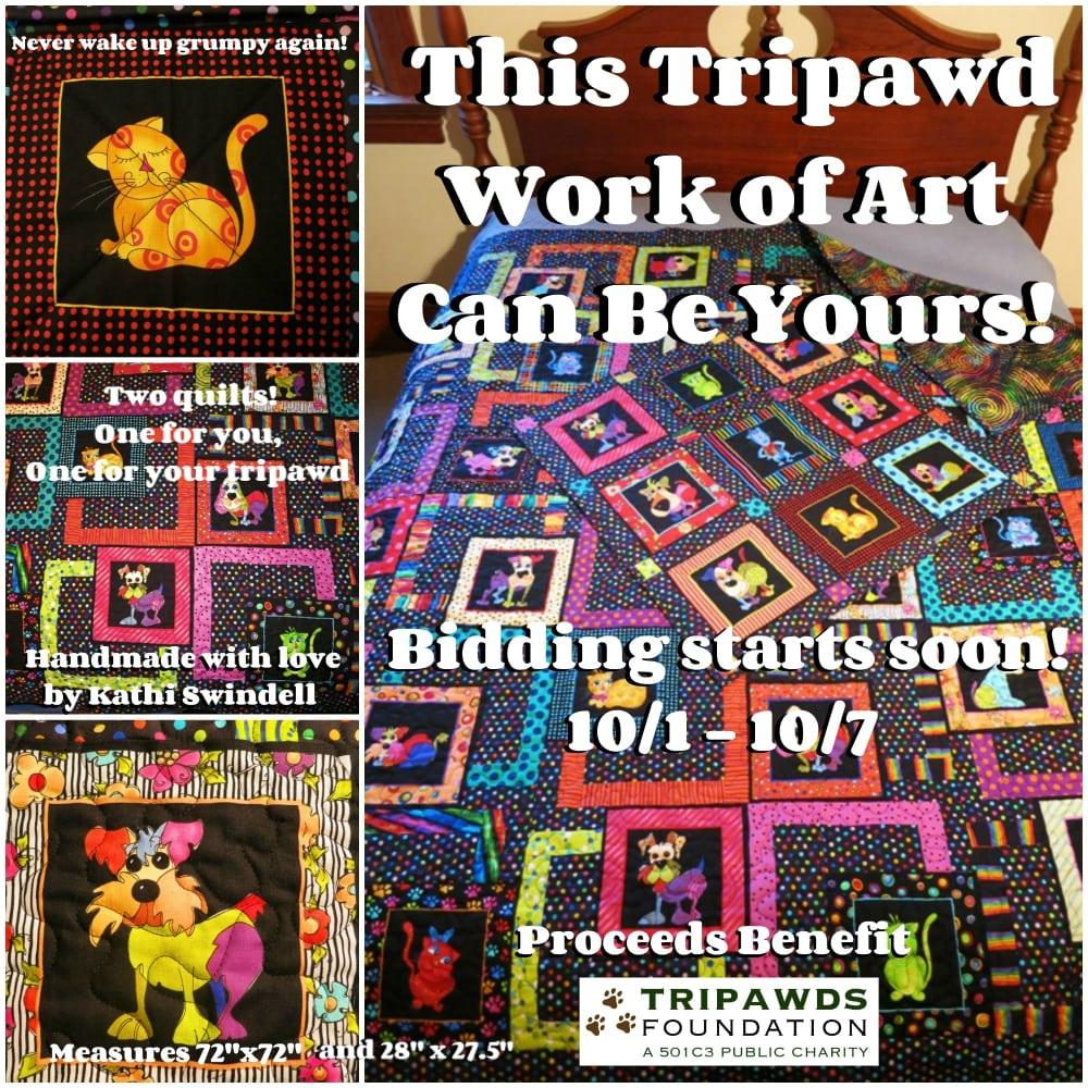 Tripawds Quilt