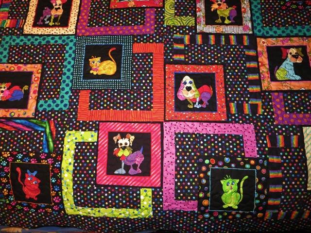 Tripawds quilt auction