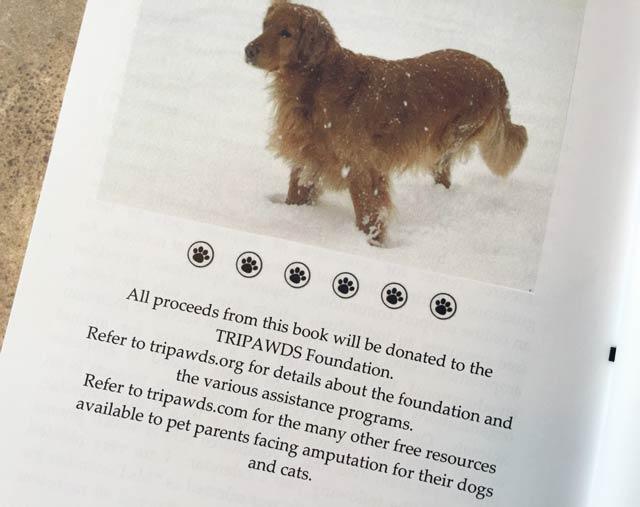 three legged dog book