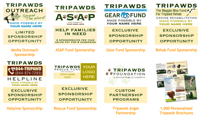 tripawds sponsorships