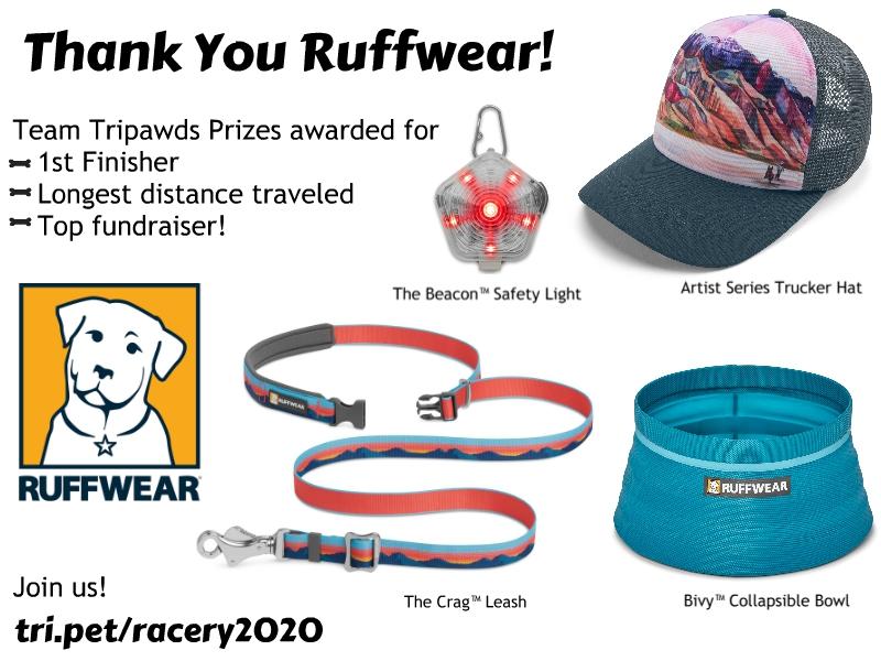 Tripawds 2020 Race Prizes