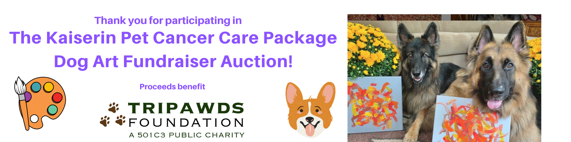 Panting Dogs Tripawds Fundraiser