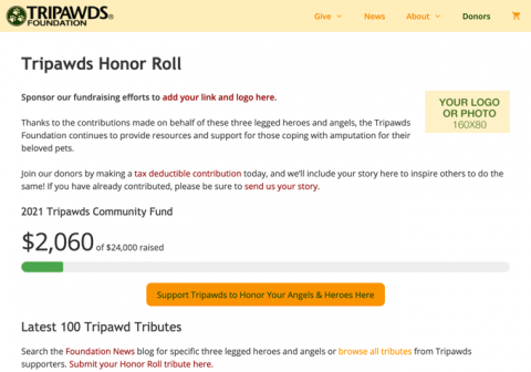 sponsor honor roll