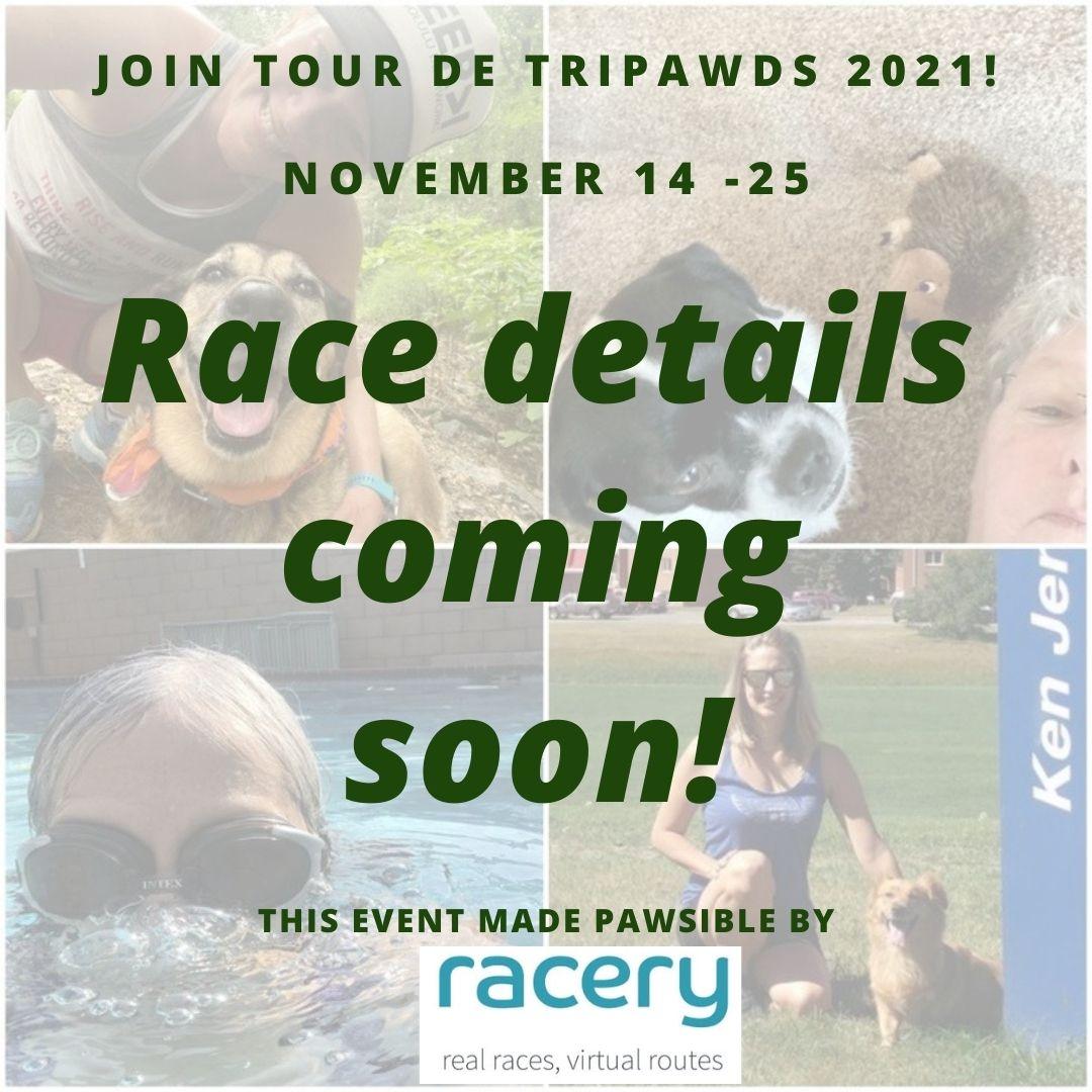 tour de Tripawds 2021 save the date