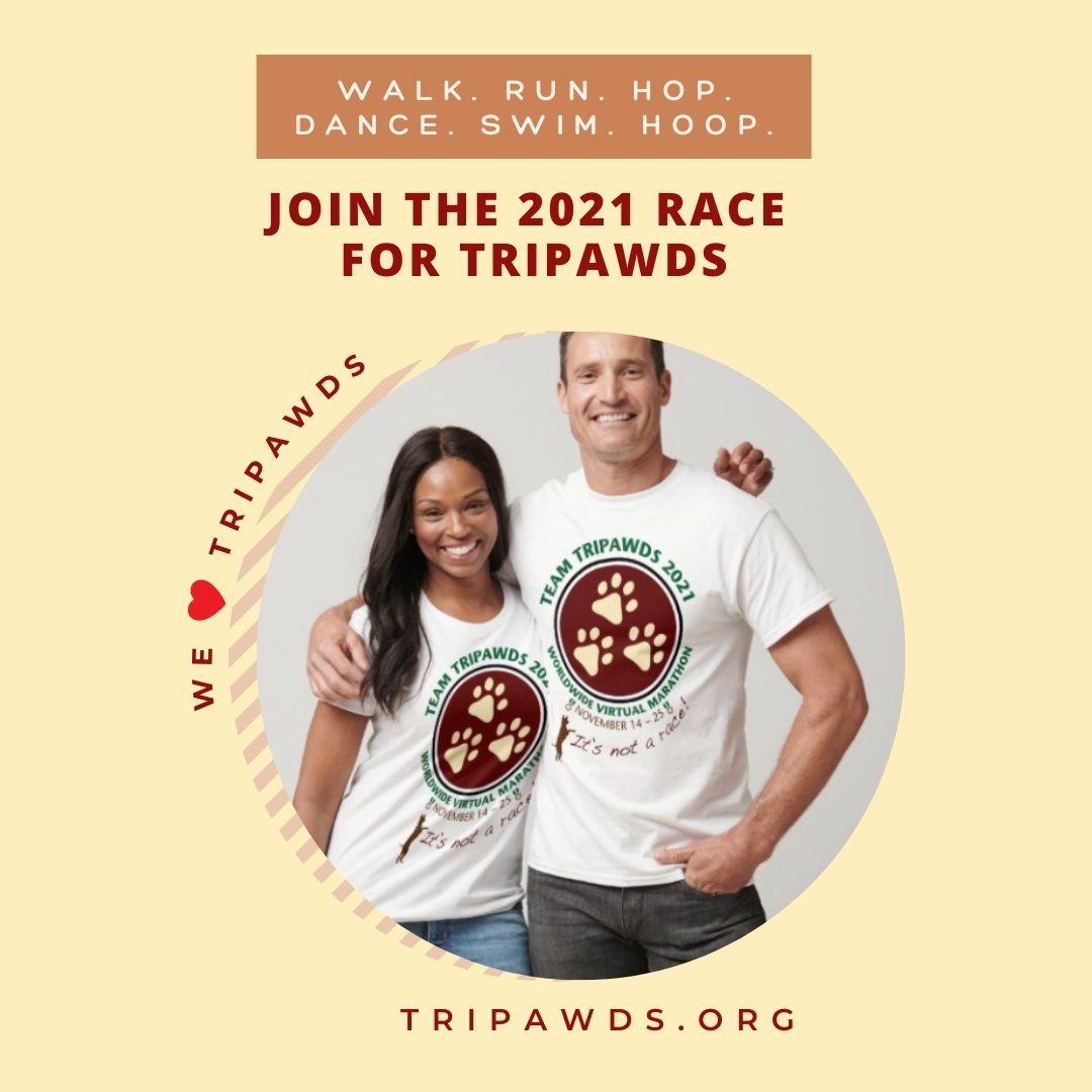 Tour de Tripawds 2021 Shirts